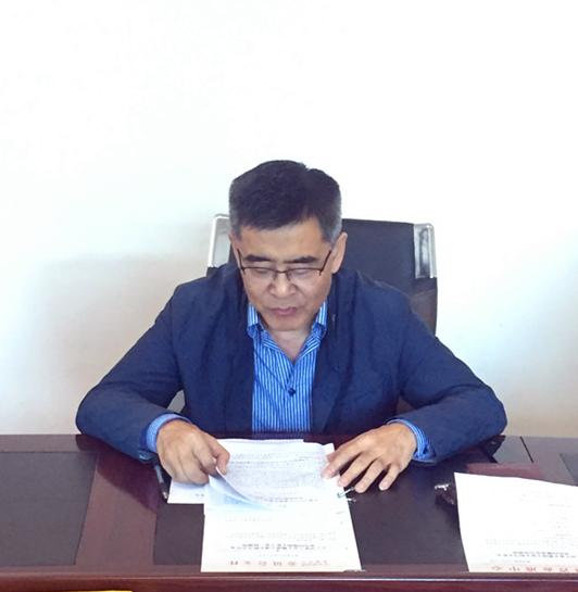 中心党委副书记,主任邓小林同志对整治工作进行安排部署图片